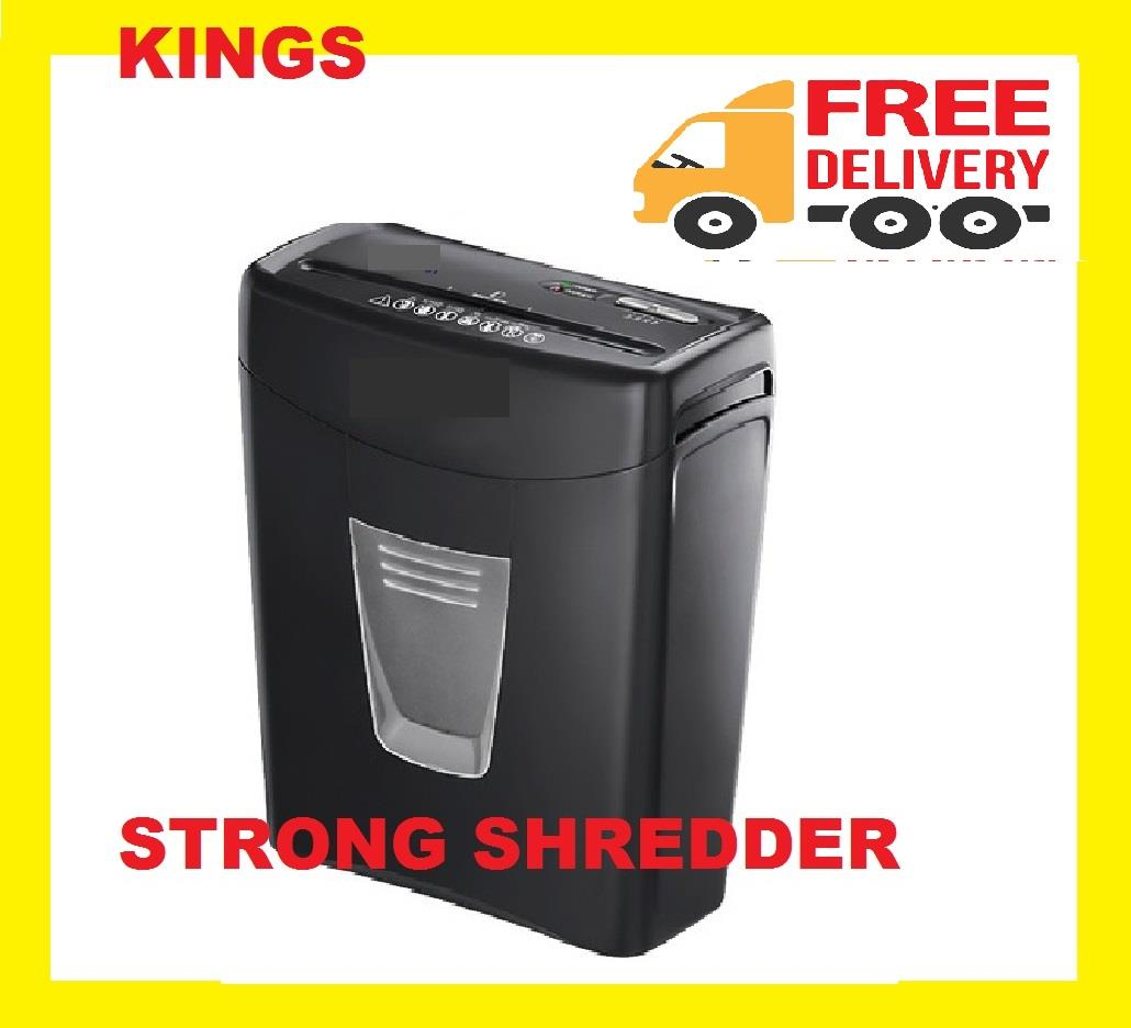 3 IN 1 PAPER SHREDDER CUTTER MEDIUM DUTY PRO USE ( 2 YEARS WARRANTY )