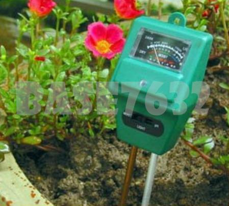 3 in 1 Soil Tester Light /PH /Moisture Meter  Analyzer