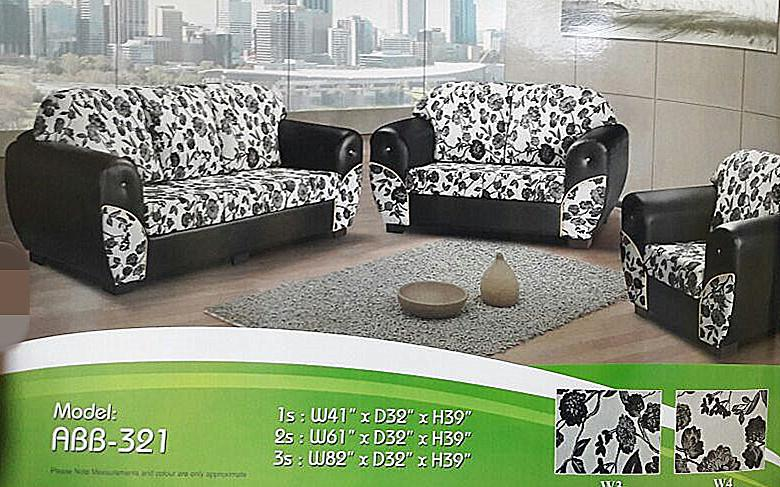 3+2+1 sofa set installment plan payment per-month - 321