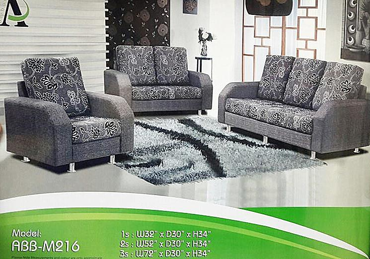 3+2+1 sofa set installment plan payment per-month - m216