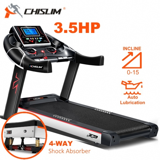 3.5HP ChiSlim R8 Premium Treadmill Electric Incline Auto Lubrication