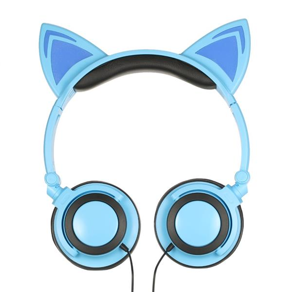 3.5mm Wired Headphones Cat Ear Flash (end 6/21/2019 9:58 PM)
