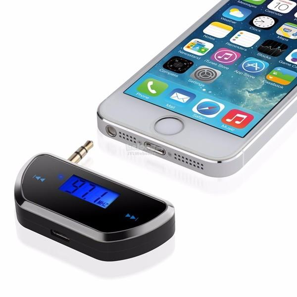 3 5mm Wireless Car Handsfree FM Transmitter For iPhone 6 5S 5C 5 Samsu