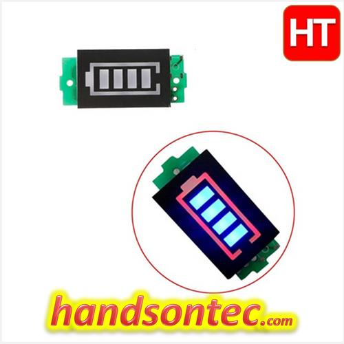3-Cell Lithium Battery Level Indicator Module
