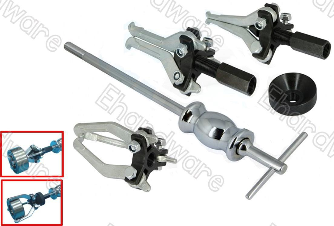 3 Jaw Internal & External Multi-function Slide Hammer Puller Set (1146