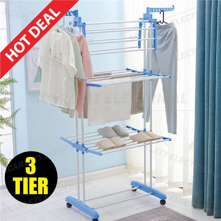 3 Layer Steel Stand Foldable Drying End 5232020 915 Am