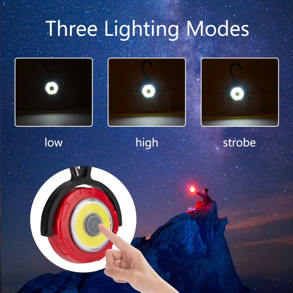 3 Modes Ultra Bright Mini Pocket Torch LED Light Emergency Lamp