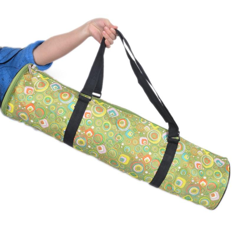 3-Way Open Waterproof Portable Yoga Mat Bag Green