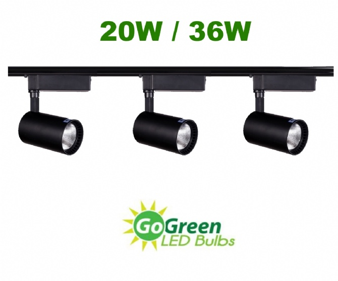 spotlight track lighting. 3 PCS 20W/ 36W LED COB Track Rail Light Spotlight Warm White + 1 Meter. \u2039 \u203a Lighting