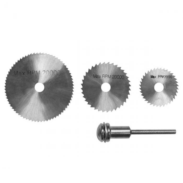 3 pcs Saw Blade Set With Mandrel 25; 32; 44mm(50-HS209)