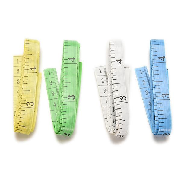 3 PCS Tape Measure Inch Double-scale Soft Tape Measuring Body Weight