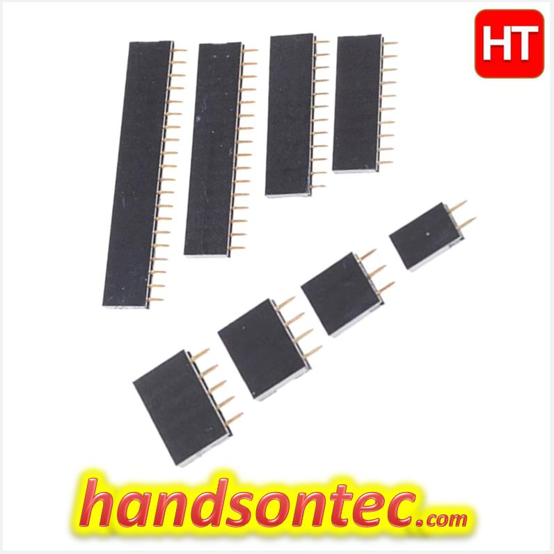 3-Pins SIL Female Headers Connector ~ 10-pcs/pack