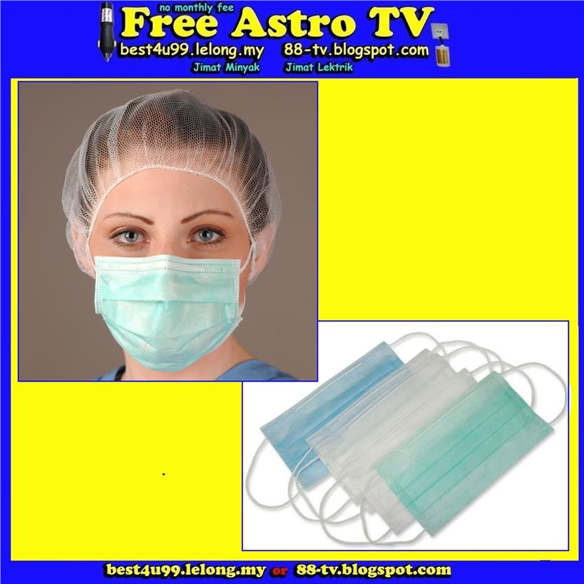 3 ply Surgical Face Mask Haze Bad Air Jerebu Asap H1N1 kolej sekolah p