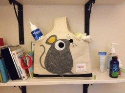 3 Sprouts storage caddy bag/ mummy bag - mouse