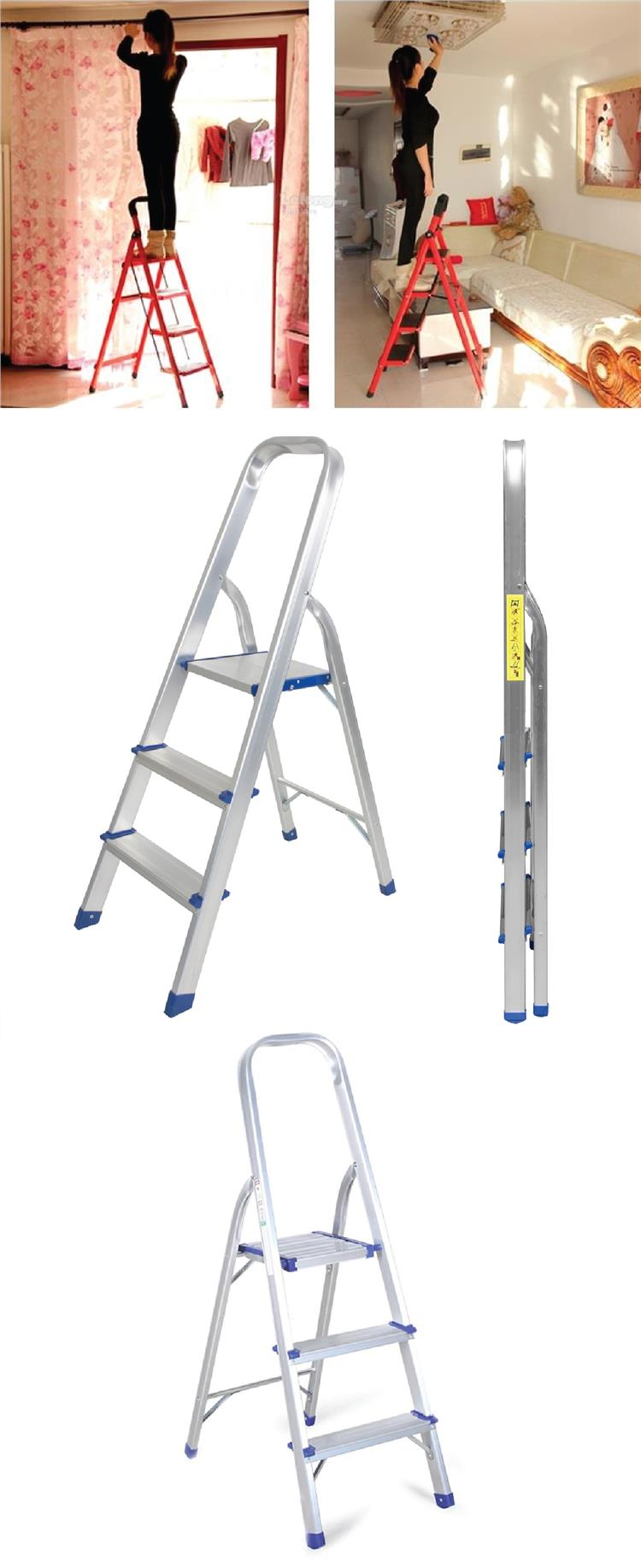 3 Step Pedal Aluminium Ladder Foldin (end 7/13/2019 4:15 PM)