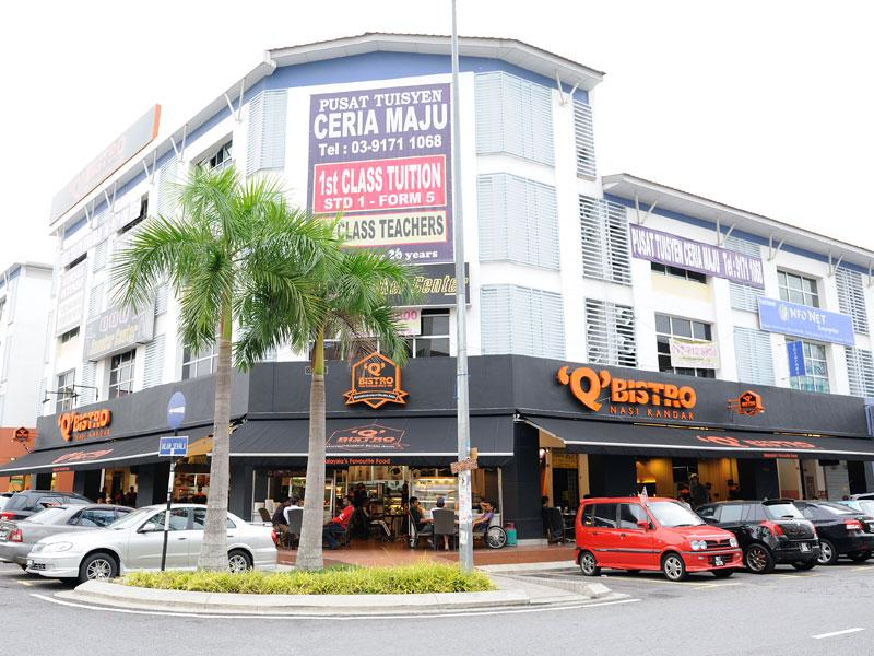 3 Sty Shop Office for sale, Dwitasik, Bdr Sri Permaisuri, Cheras