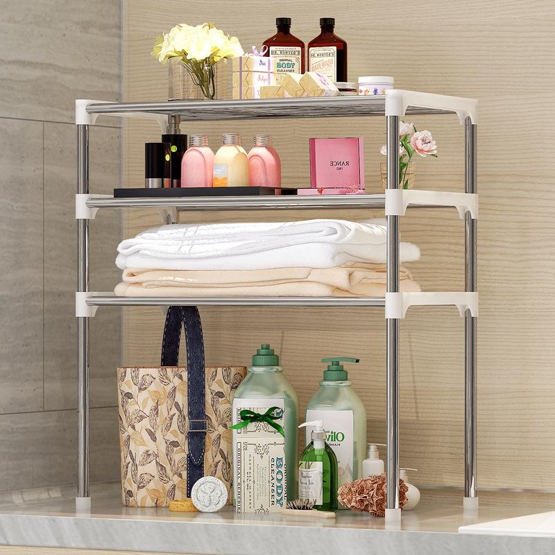 3 Tiers Layer Kitchen Rack Shelf Storage Organizer Shelves Microwave O