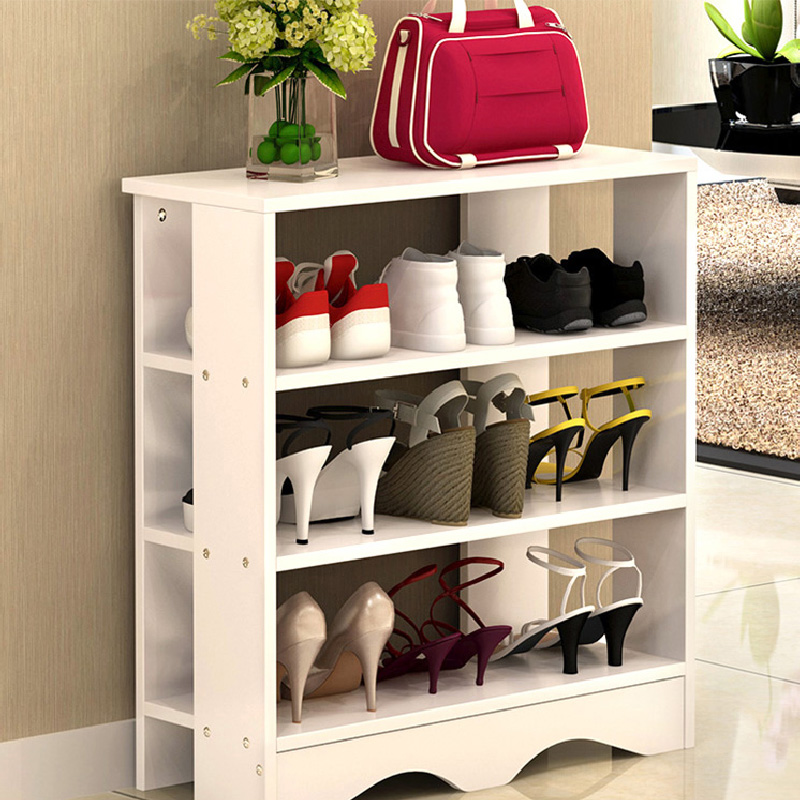 3 Tiers Wooden Shoe Rack Shelf Stand Shoe Organizer Bedroom Shoe Cabinet    60C. U2039 U203a