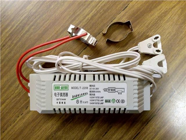 3 Units Electronic Ballast For T8 / T10 Fluorescent Tubes