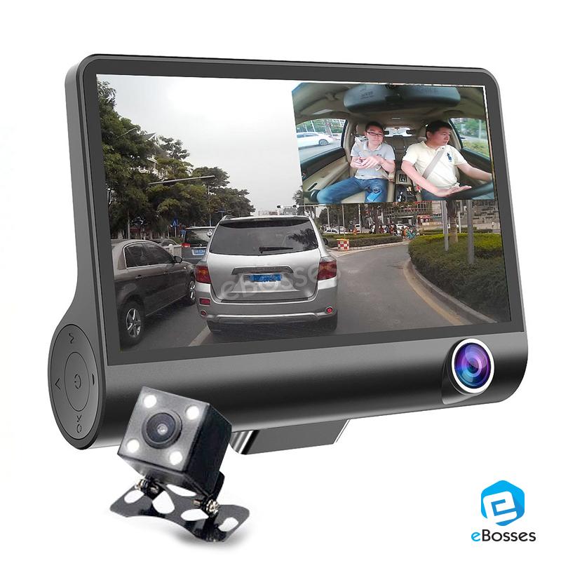 new 3 view lens car camcorder dvr d end 5 16 2020 12 28 pm. Black Bedroom Furniture Sets. Home Design Ideas