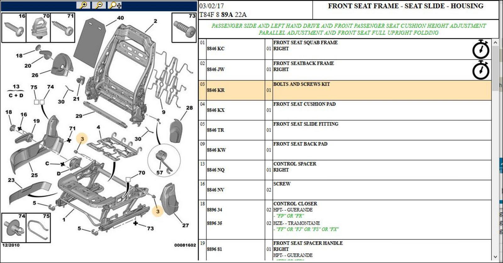 Pleasing 3 X Peugeot 3008 5008 Front Seat End 10 30 2019 2 25 Pm Wiring Digital Resources Talizslowmaporg