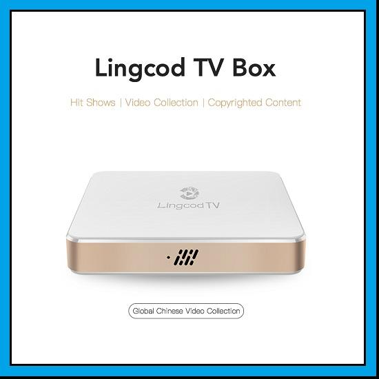 [+ 3 year Subscription] Lingcod TV Box LS5 Smart Android 6.0 OTT