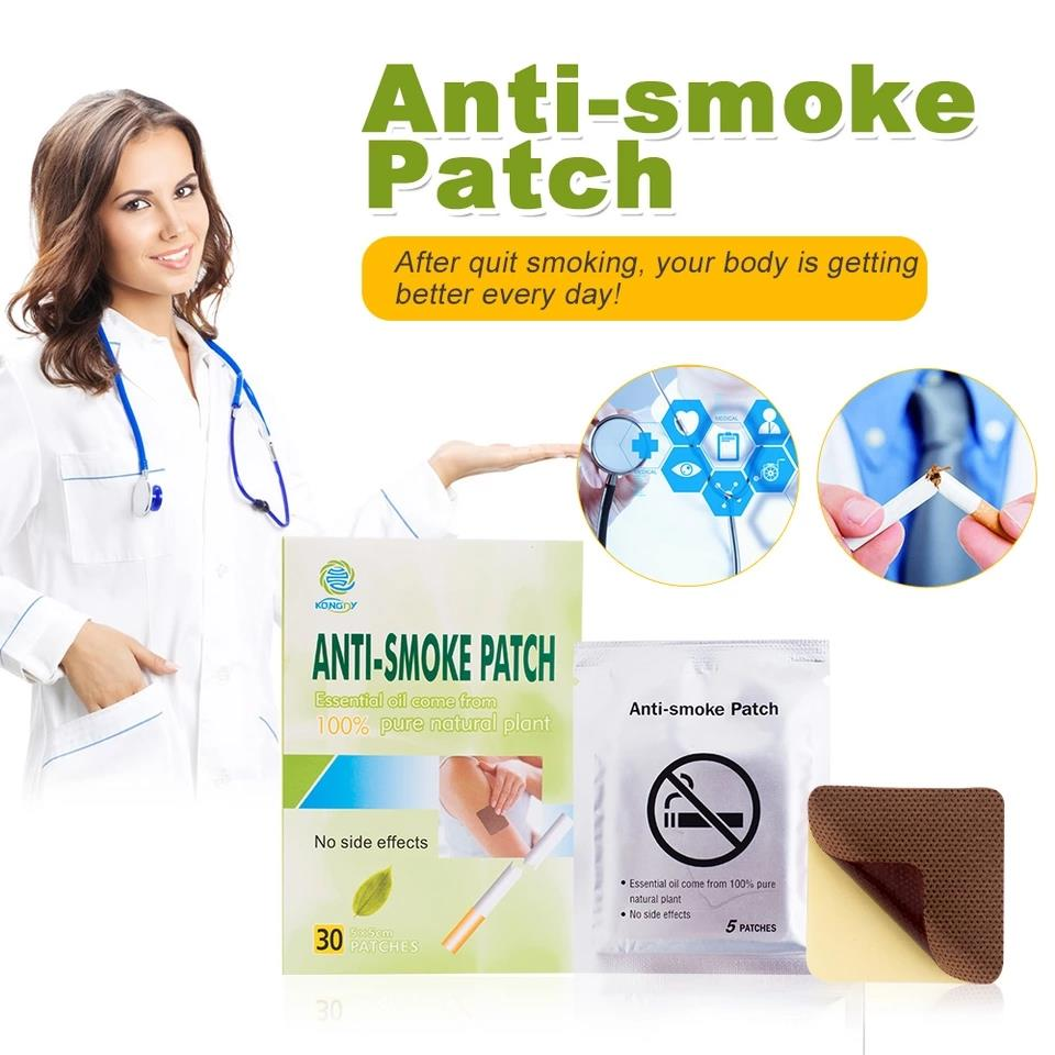 (30 patches/box) Natural Herbal Anti-Smoke Patch