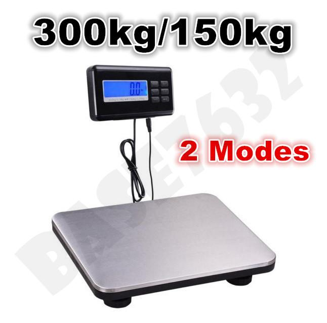 300kg/150kg Switchable Heavy Digital Weighing Top Platform Scale
