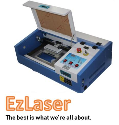 3020 CO2 Laser CNC Machine Engraving Cutting Rubber Stamp [40W/50W]