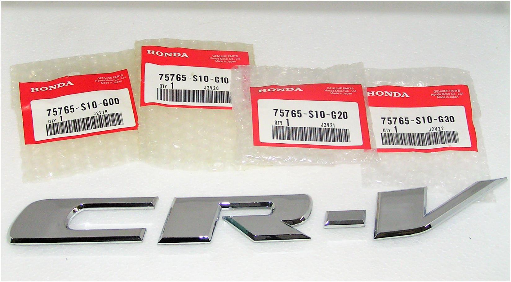 3046602 Honda Crv Badge 1997 200 End 9 19 2019 1215 Am 2001 Parts Oem Accessories Exterior Body 75765 S10 G00