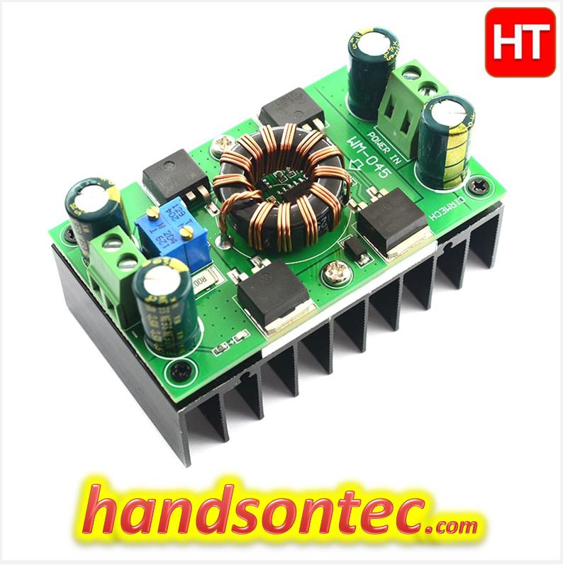 30V~10A Auto Step-Up/Step-Down DC-DC Converter Module