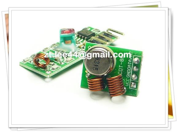 315Mhz RF transmitter and receiver link kit for Arduino / ARM / MCU