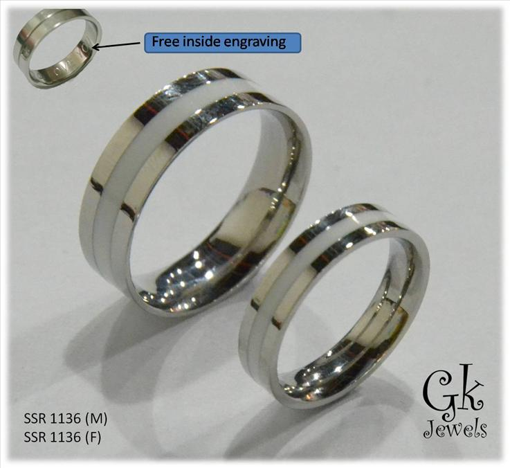 316 stainless steel couple ring (per pair) SSR 1136