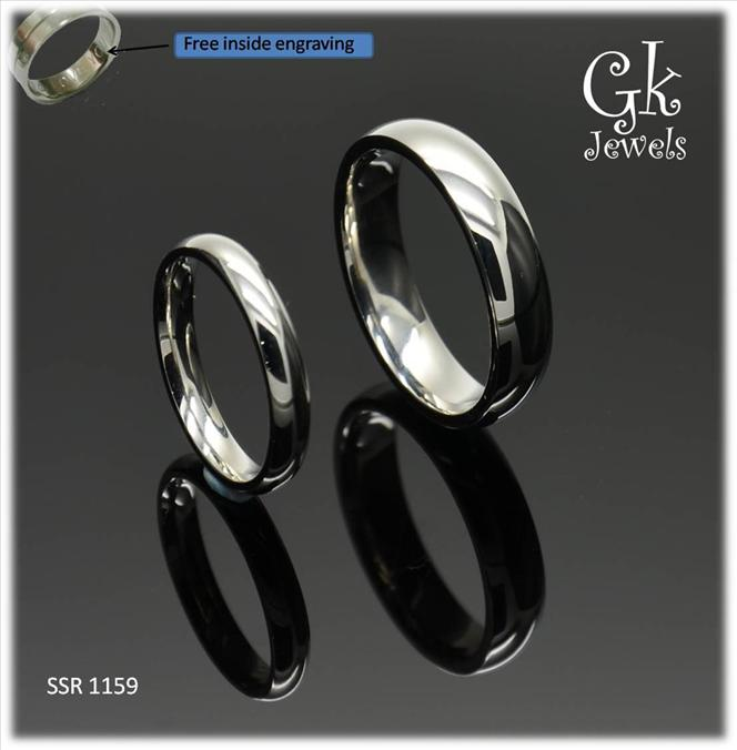316 stainless steel couple ring (per pair) SSR 1159