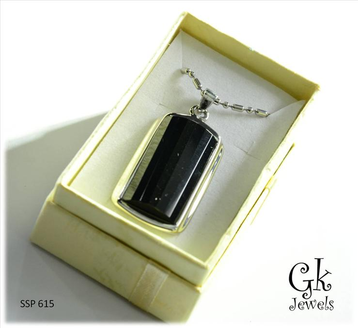 316 stainless steel Necklace SSP 615 (Onyx)