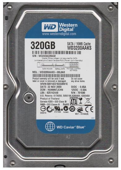 "320GB SATA 3.5"" Desktop Mix Brand Hard Disk Drive HDD"