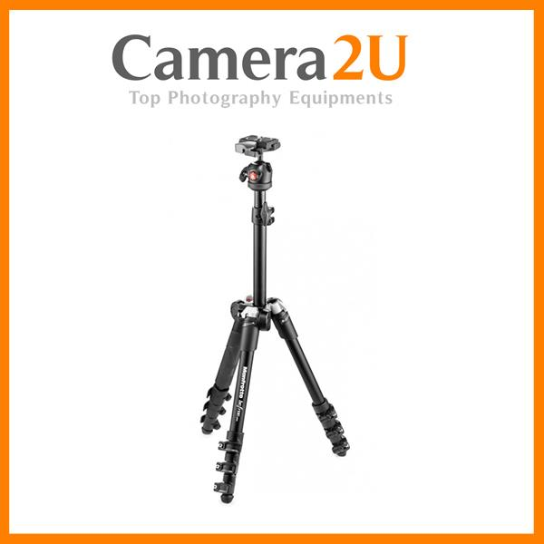 32cm Folded Manfrotto Befree One Travel Tripod with Ball Head