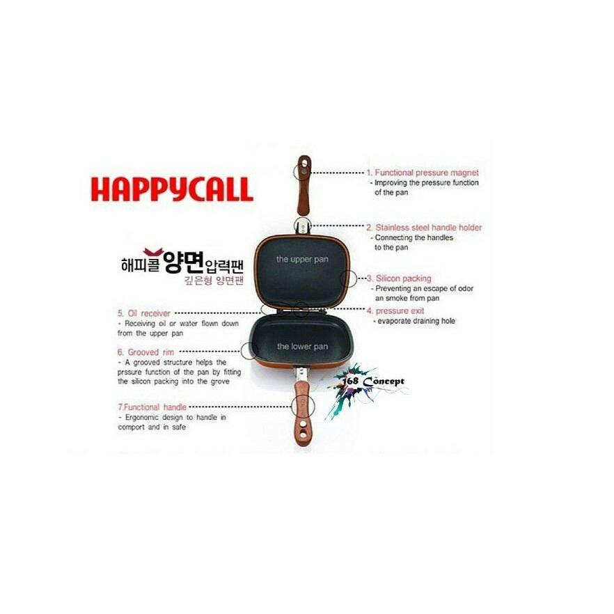 32cm KOREA ORGINAL Happy Call !Non Stick Pan