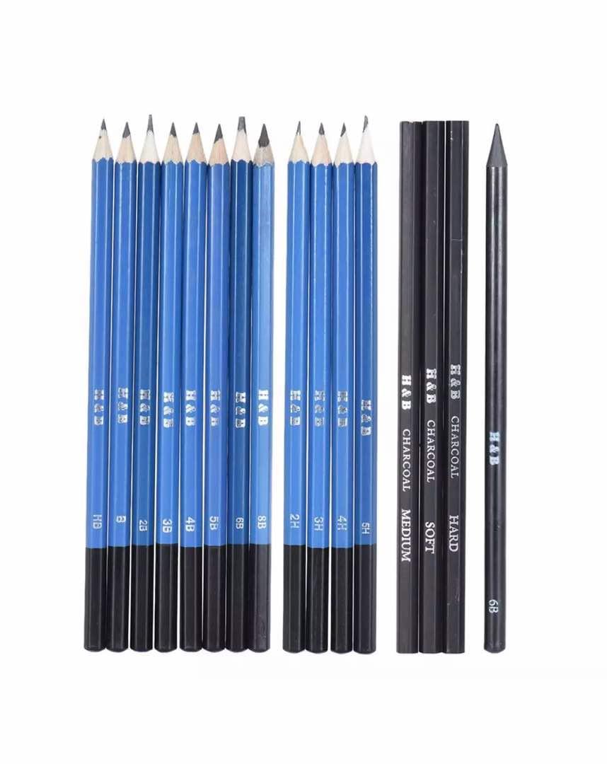 32pcs/Set Professional Drawing Sketch Pencil Kit Art Supplies Student