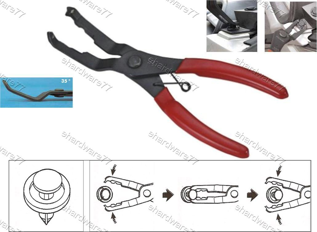 35 DEGREE AUTOBODY TRIM CLIP PLIERS (3533)