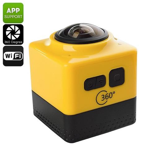 360 Degree Action Camera (4 Shooting Modes) (WSP-11C).