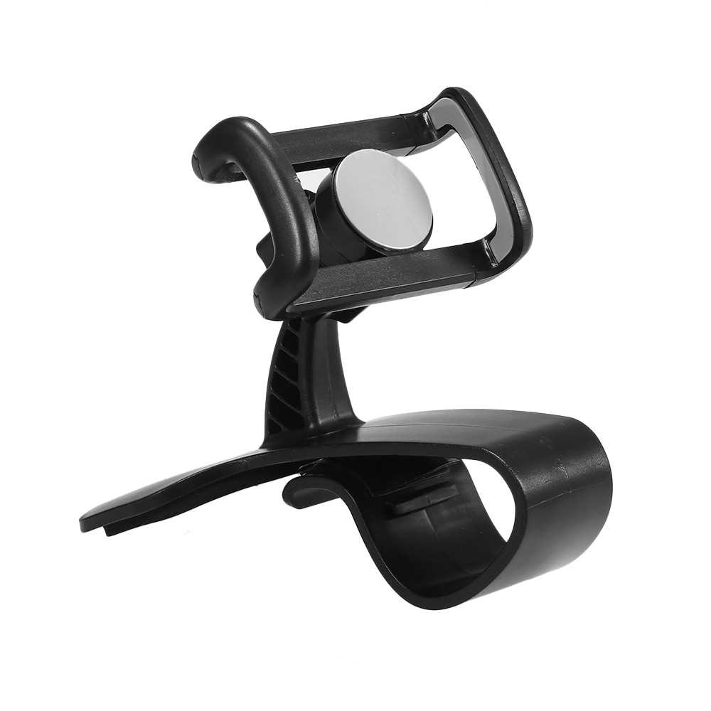 360 Degree Rotation Phone Holder Adjustable Car Dashboard Mount Clip