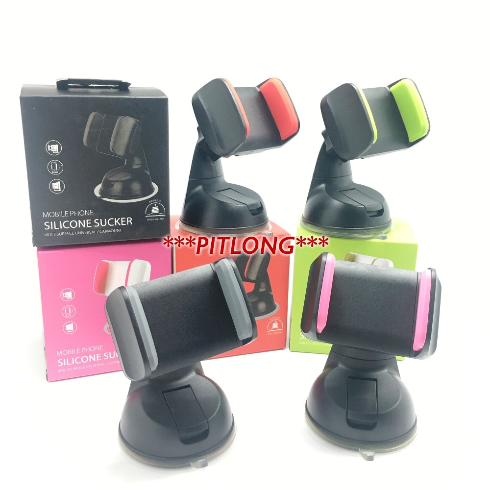 360 rotate All purpose Colorfull car holder car mounts - RED COLOUR