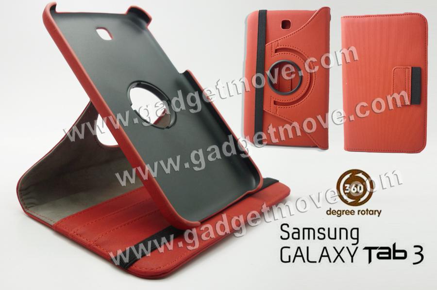 cheaper a7b86 3a511 360 Rotating Samsung Galaxy Tab 3 7.0 P3200 Wallet Leather Case