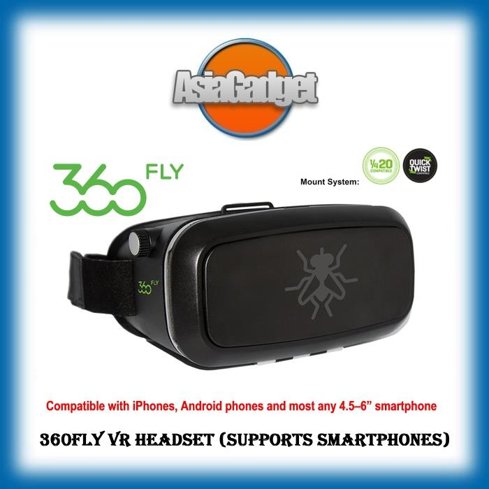 360fly VR Headset (Supports Smartphones) FREE Sandisk Ultra 32GB SDHC