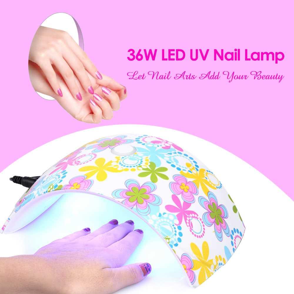 36W LED UV Nail Lamp Nail Gel Drye (end 10/19/2021 12:00 AM)