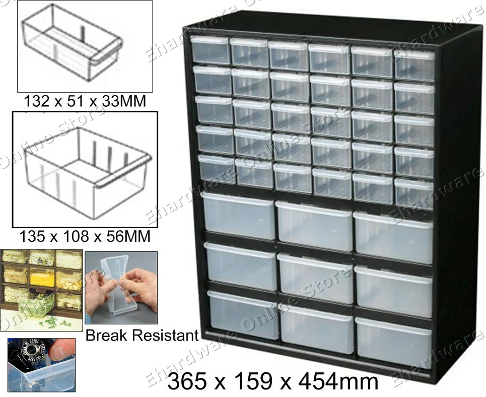 39 Drawers Small Parts Storage Cabinet Combinations (BTBD39) Pictures Gallery