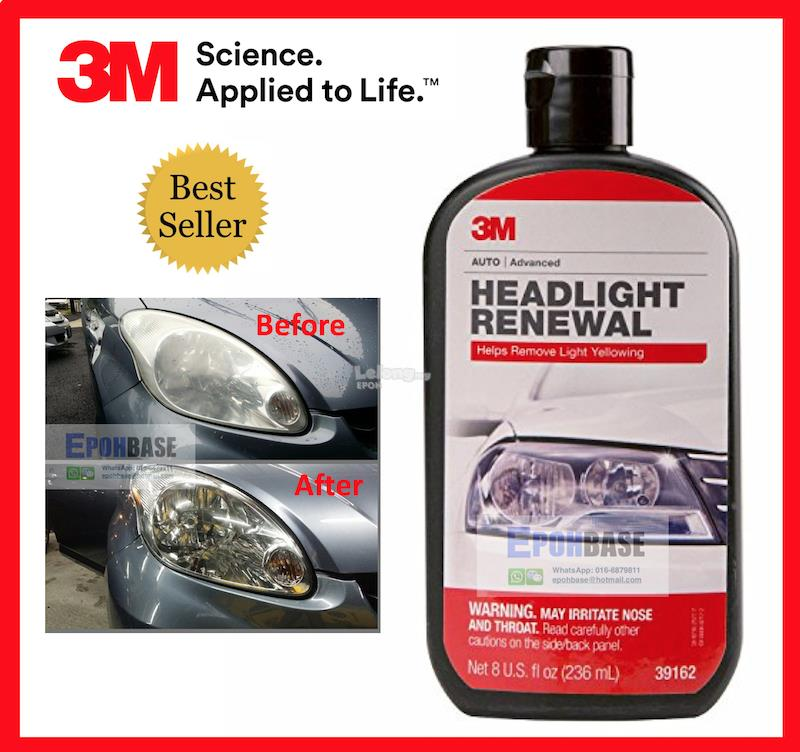 Auto Headlamp Polishing: 39162 3M Headlight Renewal, Car Head (end 8/31/2020 5:15 PM