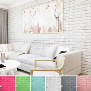 3D Brick Pattern Wallpaper Bedroom Living Room Modern Wall Background