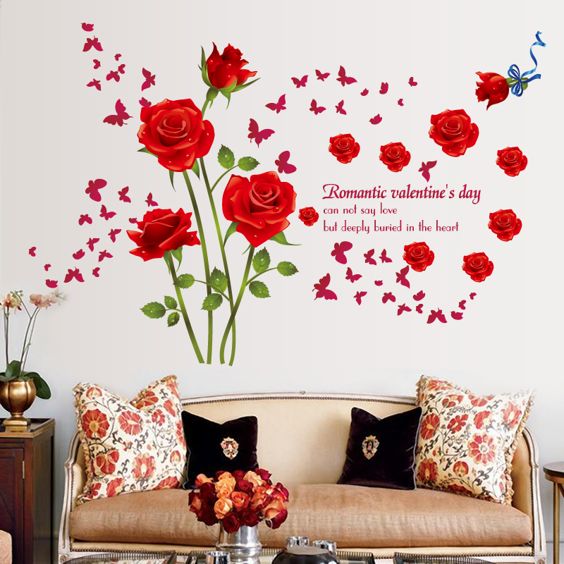 3d flower wall stickers for living r (end 3/28/2019 6:39 am)